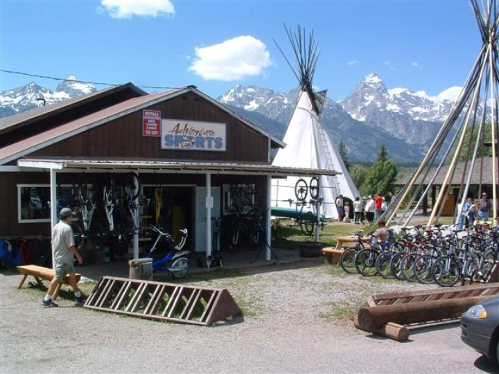 The shop in Moose, Wyoming