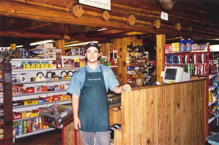 Cashier in the Trading Post