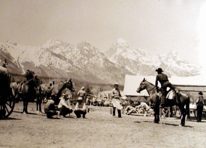 The original chuckwagon, around 1948